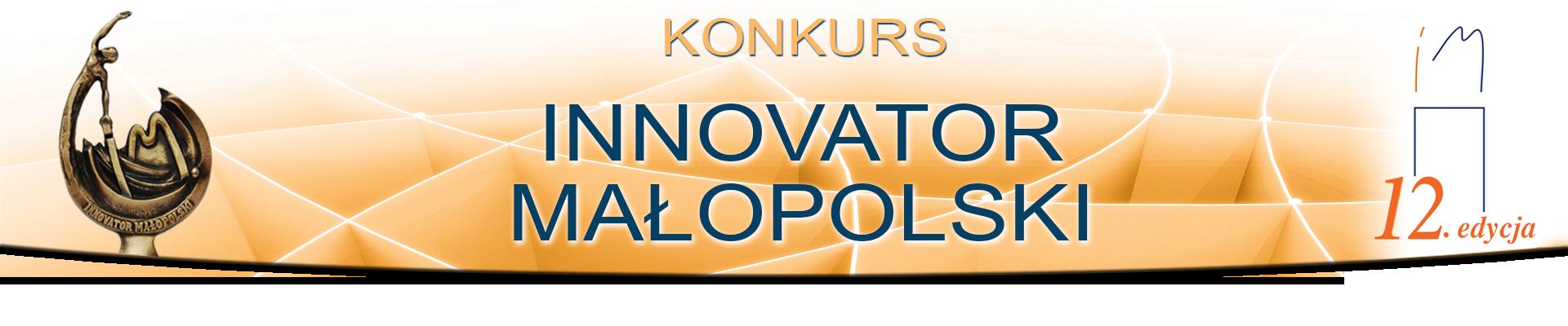 Innovator Małopolski 2018